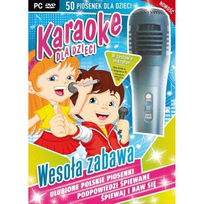 Karaoke dla dzieci: Wesoła Zabawa + Mikrofon Gra PC Electro 893546