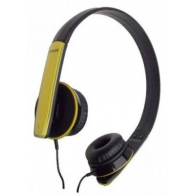 Słuchawki nauszne MAXELL Hp-Mic Żółty Electro 549310