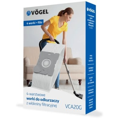 Worek do odkurzacza VÖGEL VCA20G (4 sztuki) Electro 893755