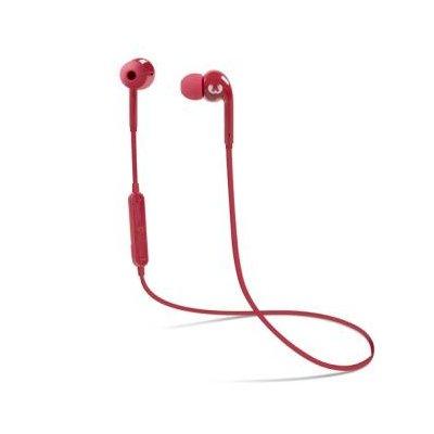 Słuchawki dokanałowe FRESH N REBEL Gift Pack Vibe Wireless Czerwony + powerbank Ruby Electro 453154