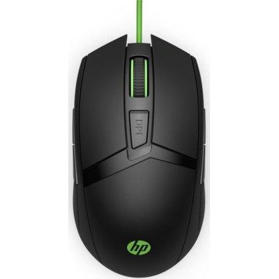 Mysz HP Pavilion Gaming 300 Czarno-zielony