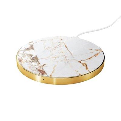 Ładowarka indukcyjna IDEAL OF SWEDEN Fashion Qi Charger Carrara Gold Electro 896102