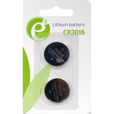 Baterie DL CR2016 GEMBIRD (2 szt.) Electro 551108