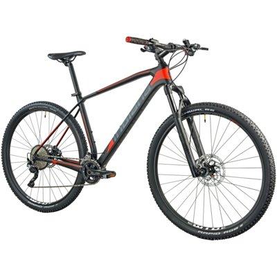 Rower górski MTB INDIANA Storm X10 M19 Czarno-czerwony Electro 894075