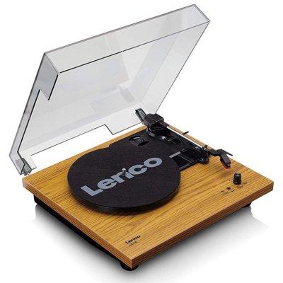 Gramofon LENCO LS-10 Brązowy Electro 894074