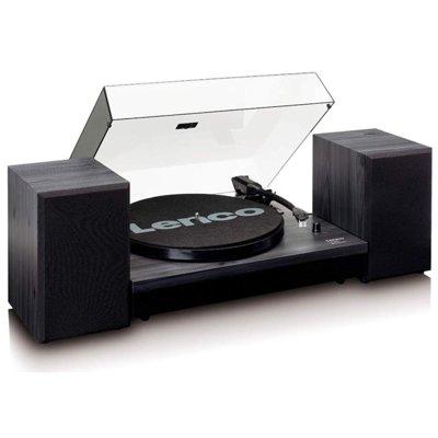 Gramofon LENCO LS-300 Czarny Electro 894077