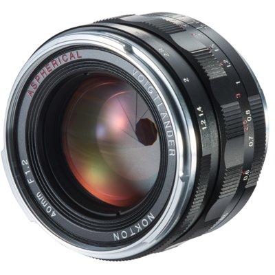 Obiektyw VOIGTLANDER 40 mm f/1.2 Nokton Sony E Electro 894556