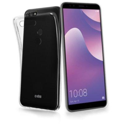 Etui SBS do Huawei Y7 2018/Y7 Prime 2018/Honor 7C Przezroczysty Electro 476302