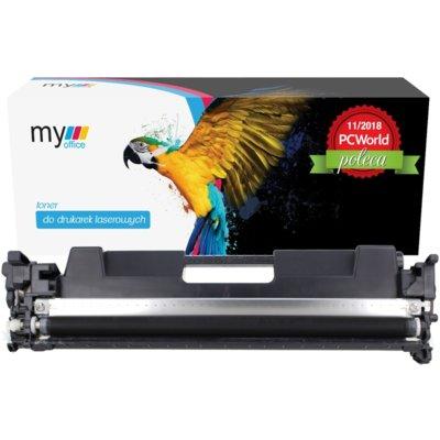 Toner MYOFFICE MOHCF217ABKN Czarny Electro 895749