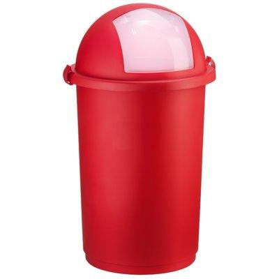 Kosz na śmieci UNIMET Push 50L Czerwony Electro 570919