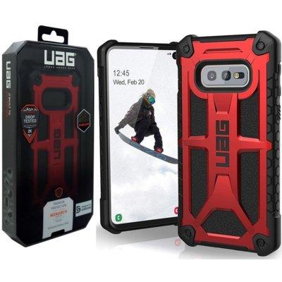 Etui UAG Monarch do Samsung Galaxy S10E Czerwony Electro 896616