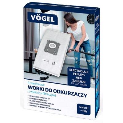 Worek do odkurzacza VÖGEL EP-BAG Micro (4 sztuki) Electro 896942