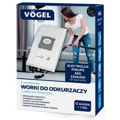 Worek do odkurzacza VÖGEL EP-Bag Maxi (12 sztuk) Electro 896943