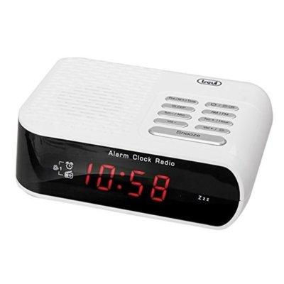 Radiobudzik TREVI RC 827D Biały Electro 509027