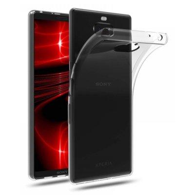 Etui TECH-PROTECT Flexair do Sony Xperia 10 Plus Przezroczysty Electro 898086
