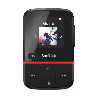Odtwarzacz MP3 SANDISK Clip Sport Go 32 GB Czerwony