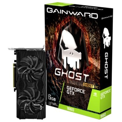 Karta graficzna GAINWARD GeForce GTX 1660 Ghost OC 6GB Electro 558258