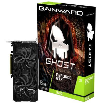 Karta graficzna GAINWARD GeForce GTX 1660 Ghost 6GB Electro 558259