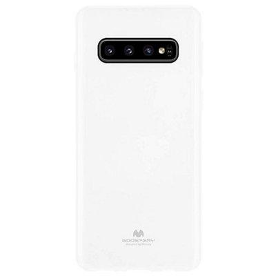 Etui MERCURY Jelly Case do Samsung Galaxy S10+ Biały Electro 899307