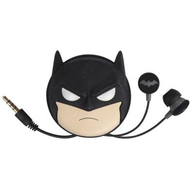 Słuchawki dokanałowe TRIBE DC Comics Batman Czarny Electro 534606