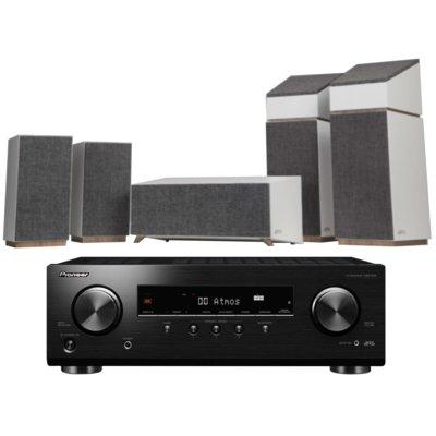 Kino domowe PIONEER VSX-534B + JAMO S 803 HCS Biały Electro 899998
