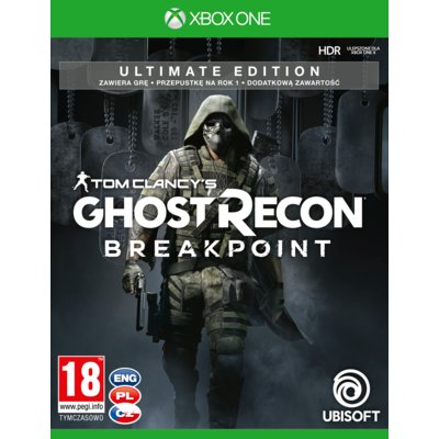 Tom Clancy's Ghost Recon: Breakpoint – Edycja Ultimate Gra XBOX ONE Electro 550313