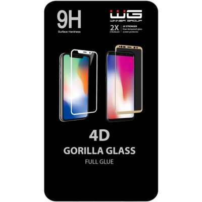 Szkło hartowane WINNER GROUP 4D Full Glue do Huawei P30 Lite Czarny Electro 550389