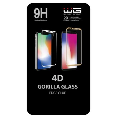 Szkło hartowane WINNER GROUP 4D Edge Glue do Huawei P30 Pro Czarny Electro 550413