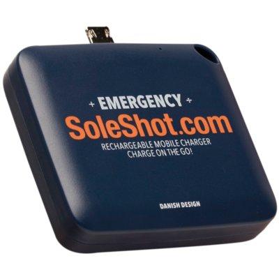 Powerbank SOLESHOT 1500 mAh Niebieski Electro 550437