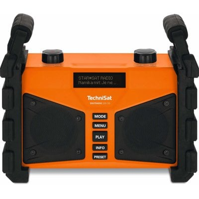 Radio TECHNISAT Digitradio 230 OD Pomarańczowy Electro 550577