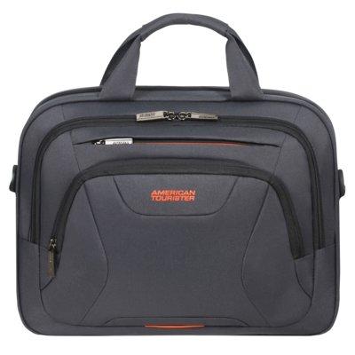 Torba na laptopa AMERICAN TOURISTER At Work 13.3-14.1 cali Szaro-pomarańczowy Electro e1175217