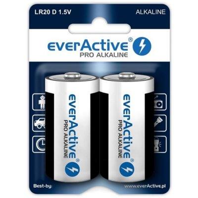 Baterie D LR20 EVERACTIVE Pro Alkaline (2 szt.) Electro 562121