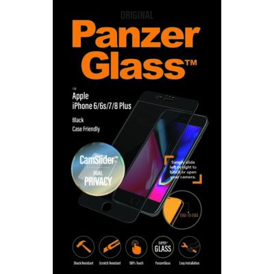 Szkło hartowane PANZERGLASS do Apple iPhone 6 Plus/iPhone 6S Plus/iPhone 7 Plus/iPhone 8 Plus Electro 509516