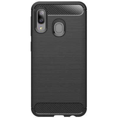 Etui TECH-PROTECT Carbon do Samsung Galaxy A10 Czarny Electro 551128