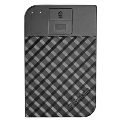 Dysk VERBATIM Fingerprint Secure 1TB Czarny Electro 978712