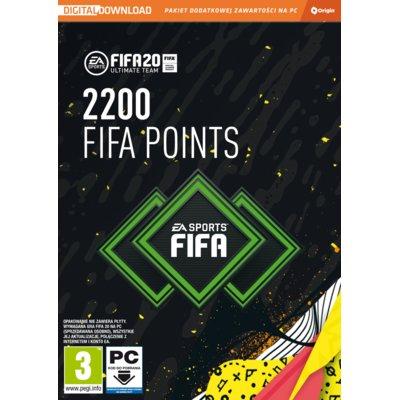 FIFA 20 – 2200 punktów CIAB Gra PC Electro 551934