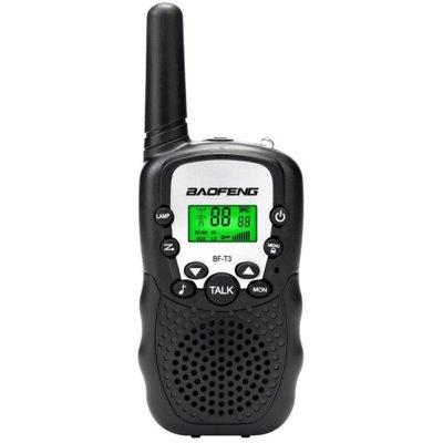 Radiotelefon BAOFENG BF-T3 Czarny Electro 552117