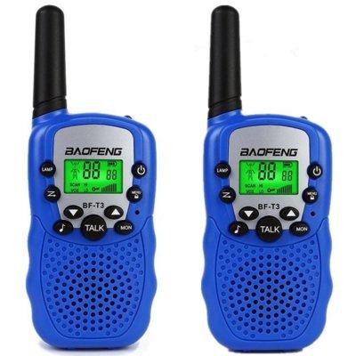 Radiotelefon BAOFENG BF-T3 Niebieski Electro 552118