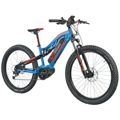 Rower elektryczny TORPADO Thor Maxdrive 27.5 M16 Niebiesko-pomarańczowy Electro 552289