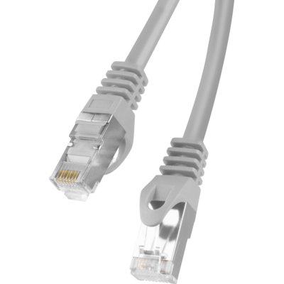 Kabel sieciowy LAN RJ45 - RJ45 LANBERG 15 m Szary