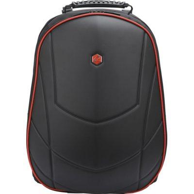 Plecak na laptopa BESTLIFE Assailant Gaming USB 17 cali Czerwony Electro 172924