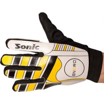 Rękawice bramkarskie VIZARI Sonic (rozmiar 5) Czarno-żółto-biały Electro 599846