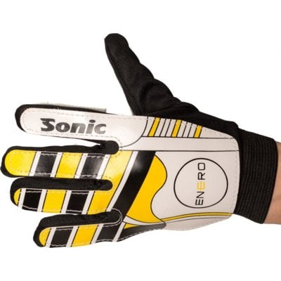 Rękawice bramkarskie VIZARI Sonic (rozmiar 6) Czarno-żółto-biały Electro 497423