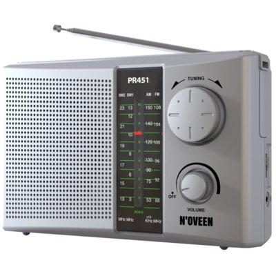 Radio NOVEEN PR451 Srebrny Electro 560512
