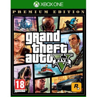 Grand Theft Auto V – Edycja Premium Gra Xbox One Electro 553941