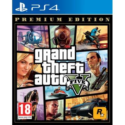 Grand Theft Auto V – Edycja Premium Gra PS4 Electro 553940