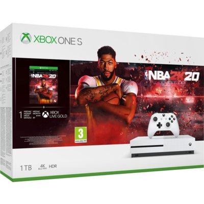 Konsola MICROSOFT XBOX ONE S 1TB + NBA 2K20