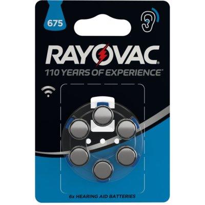Baterie ZA675 RAYOVAC (6 szt.) Electro 554466