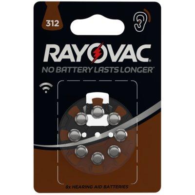 Baterie ZA312 RAYOVAC (8 szt.) Electro 554465