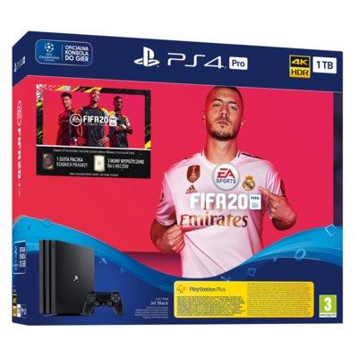 Konsola SONY PlayStation 4 Pro 1TB + FIFA 20 Electro 555134